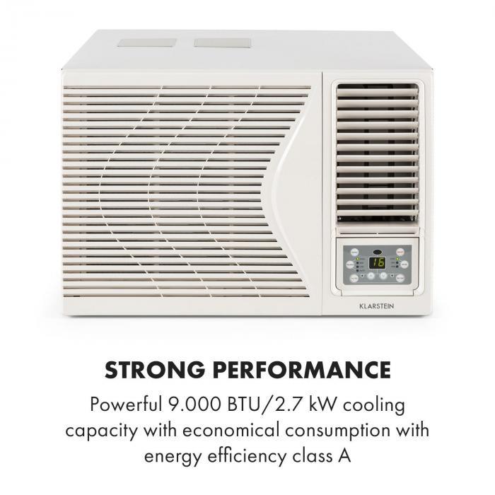 Frostik Condizionatore Da Finestra 9000 BTU Classe A R32 Telecomando