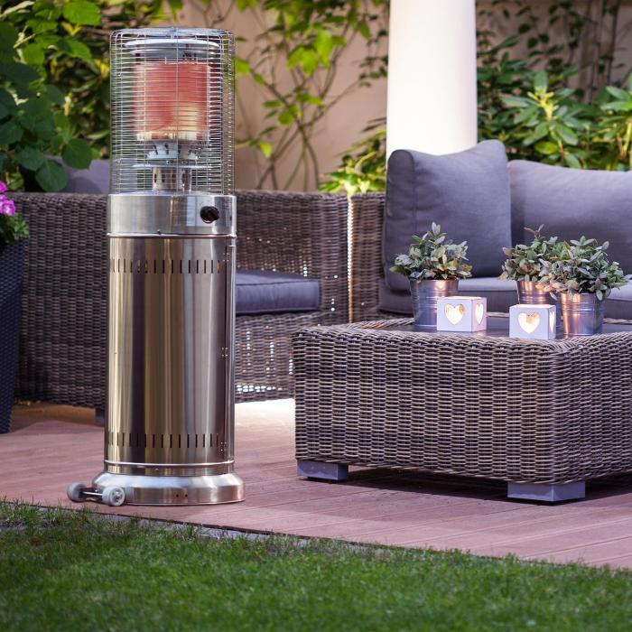 Cover Terrace: Heatwave V2A Terrace Heater + Cover Set