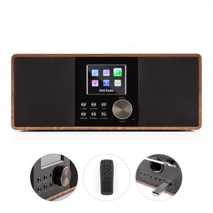 Connect 120 Internet Radio Media Player Bluetooth WLAN DAB/DAB+ FM USB