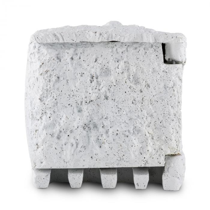 Power Rock 10 ulkopistorasia 4-osainen haaroitusrasia 10 m pistorasiakivi