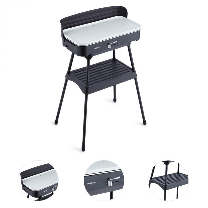 porterhouse barbecue lectrique grill de table 2200w. Black Bedroom Furniture Sets. Home Design Ideas
