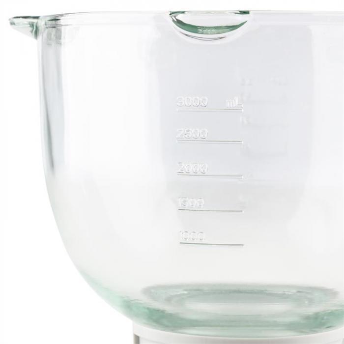 Allegra Bowl Ciotola in vetro da 3 l, pezzo di ricambio/accessorio per robot da cucina