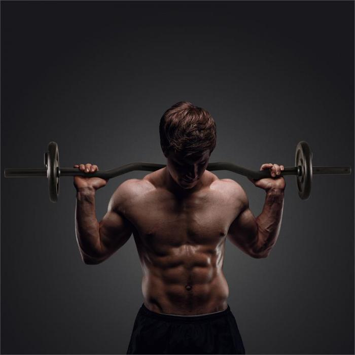 Set Dischi Per Sollevamento Pesi 15 kg con Curlbar 4 x 1,25 kg + 4 x 2,5 kg