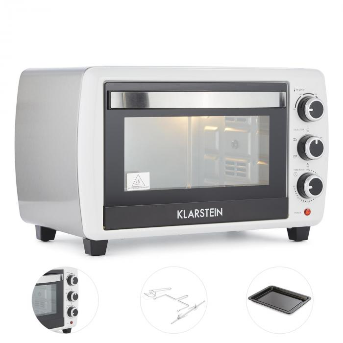 Omnichef 20 2G Mini-forno Spiedo 1500 W 20 l Bianco