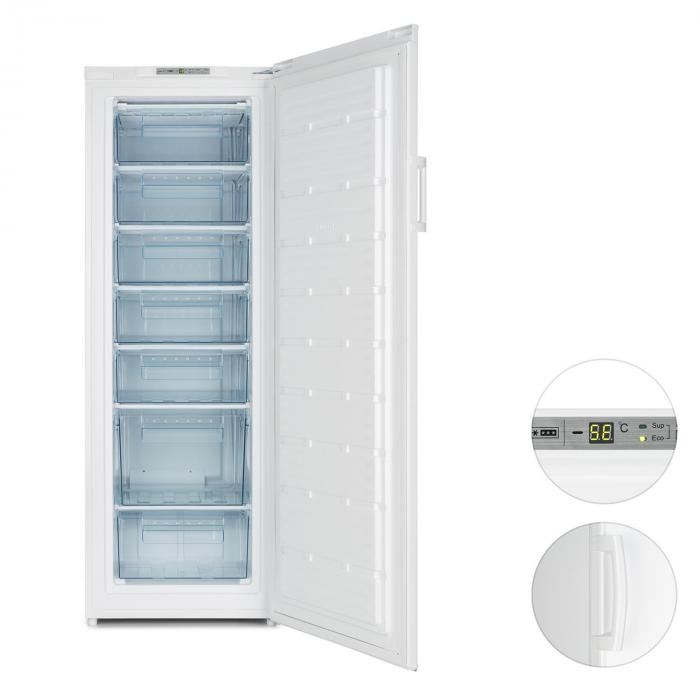 Iceblokk 225 Congelatore 212 L 7 Ripiani 198 kWh/a A++ bianco