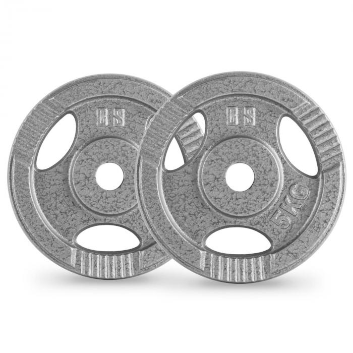 IP3H 30 kg levypainosetti 2 x 5 kg + 2 x 10 kg 30 mm