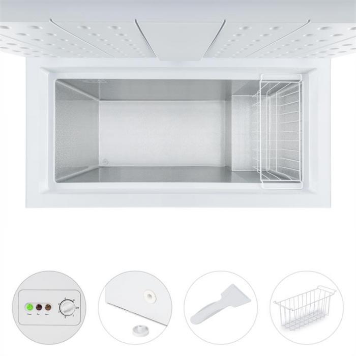 Iceblokk 300 Congelatore a Pozzetto Verticale 300 L 142 kWh/a A+++ Bianco