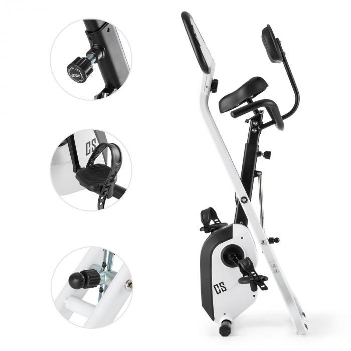Azura X1 X-Bike fino a 120 kg Misura Polso Pieghevole 4 kg bianco