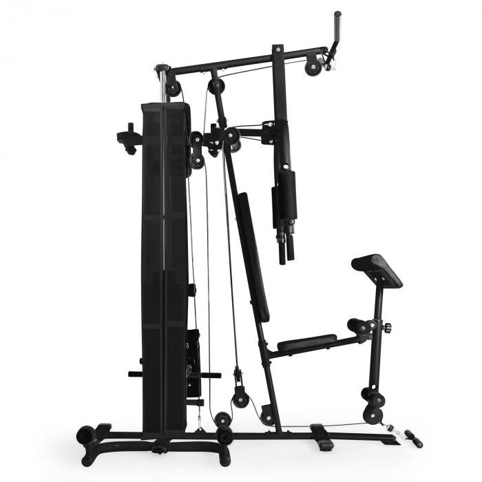 Ultimate Gym 5000 monitoimintoinen kuntoilulaite musta