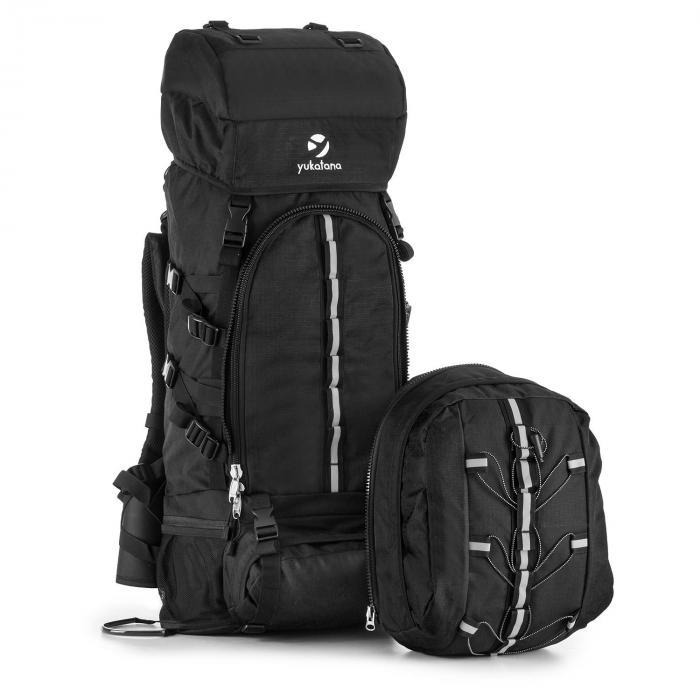 Almer Trekking-Rucksack 80l 40x80x35 cm Daypack schwarz