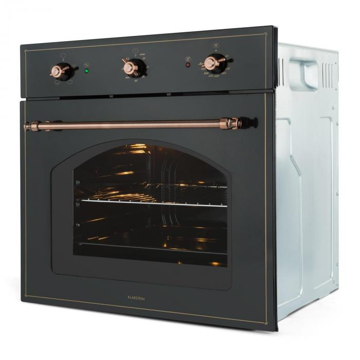 Vilhelmine Oven 55 l Installed Energy Efficiency Class A Black