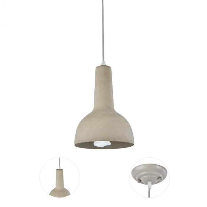 Sonnenstein Studie 8 Concrete Hanging Lamp Pendulum Lamp Industrial Design