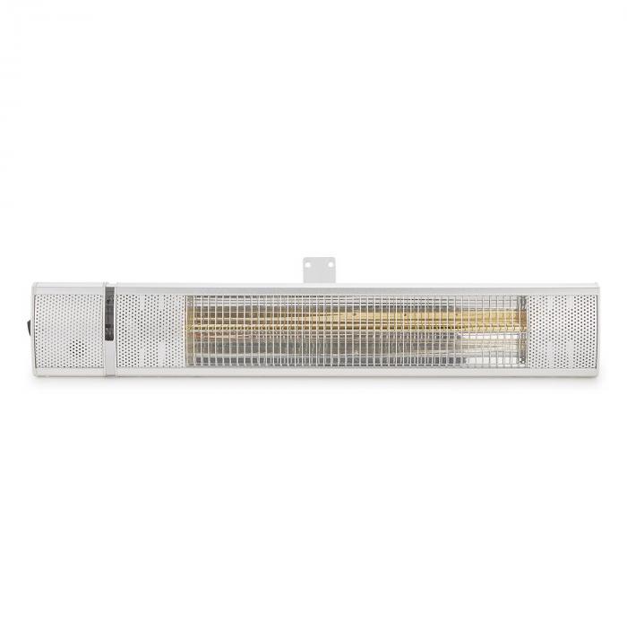 DURAMAXX Gold Bar 2000 Stufa Infrarossi IP65 Alluminio 2000W
