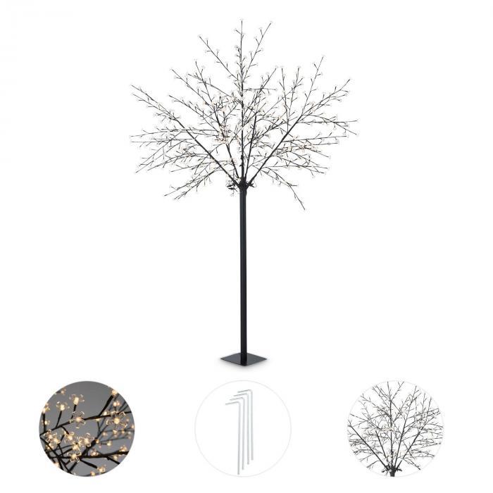 Hanami WW 250 Albero Luminoso Fiori di Ciliegio 600 LED Bianco Caldo