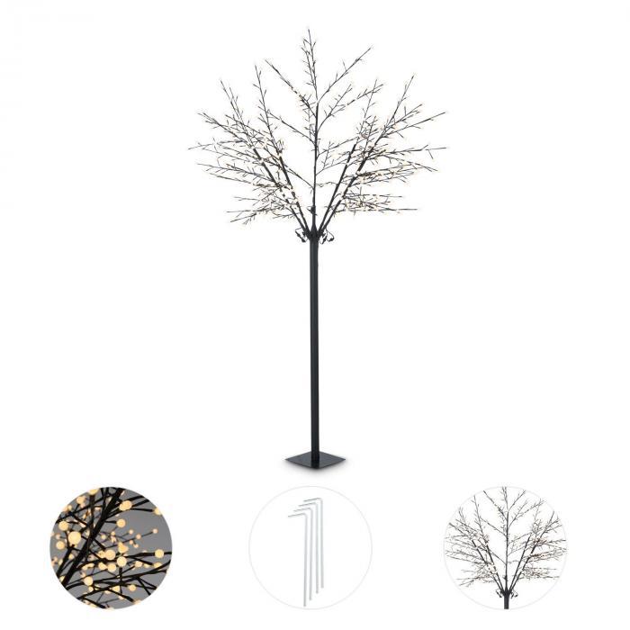 Shineberry WW 250 Albero Luminoso Bacche 600 LED Bianco Caldo