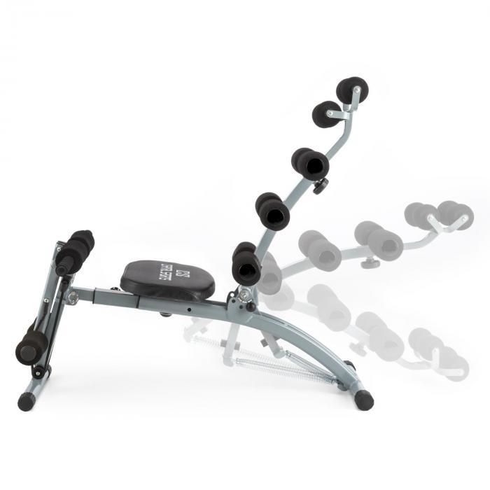 Sixish Core Exerciser addominali Body Trainer Nero