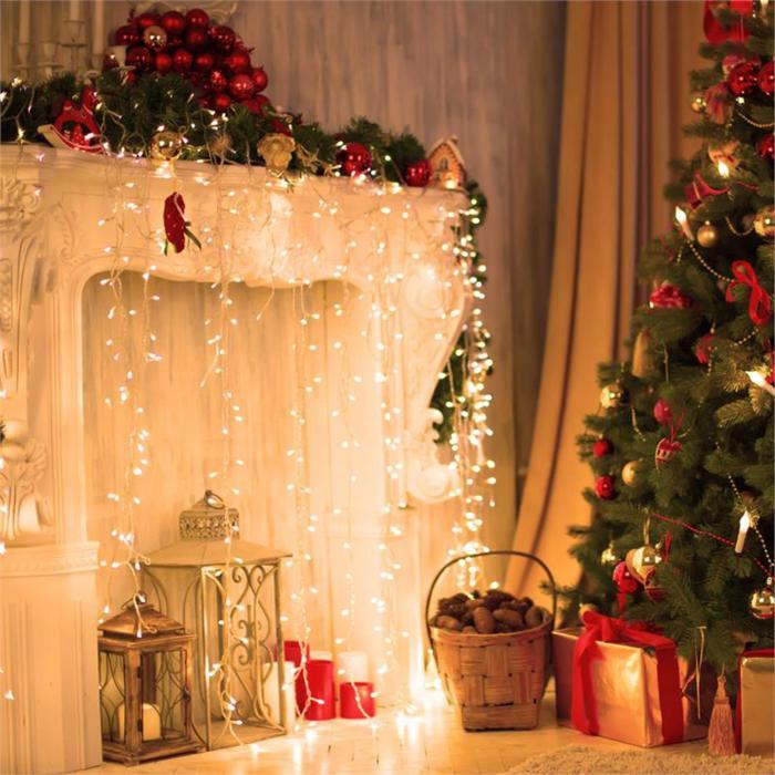 Dreamhouse Classic LED-valosarja jääpuikot 16 m 320 LED-lamppua lämmin