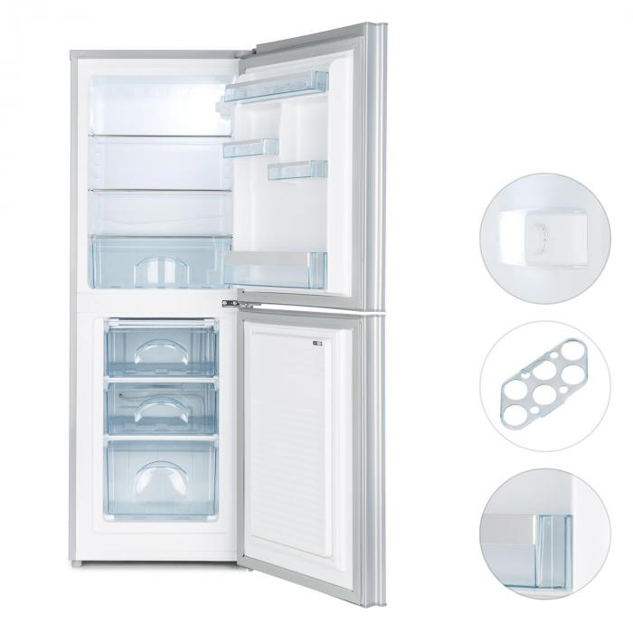 Luminance Frost Combinado Frigorífico Congelador 98/52 l A+++ Portas de Vidro - preto