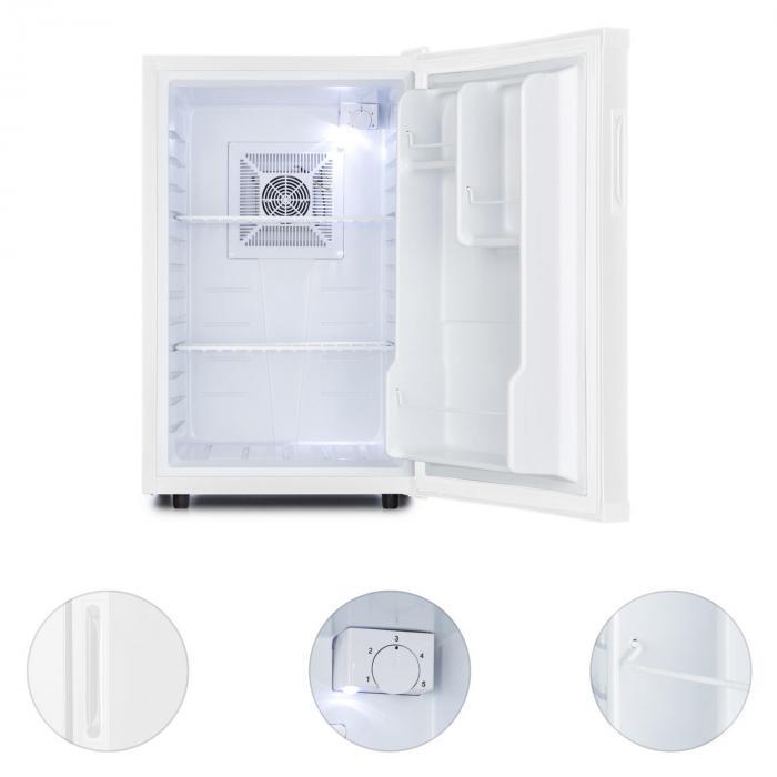 Beerbauch jääkaappi minibaari huoneeseen 65 l luokka A valkoinen