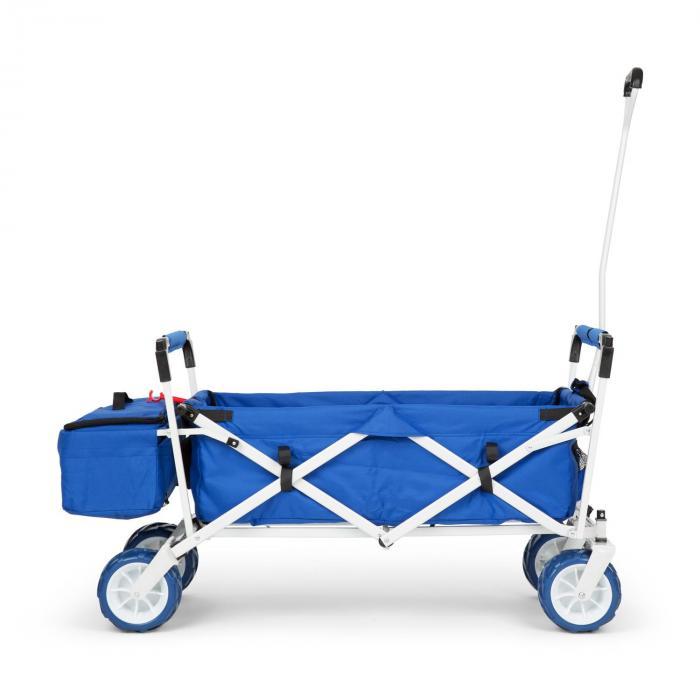 The Blue Supreme Bollerwagen Handwagen faltbar 68kg Sonnendach