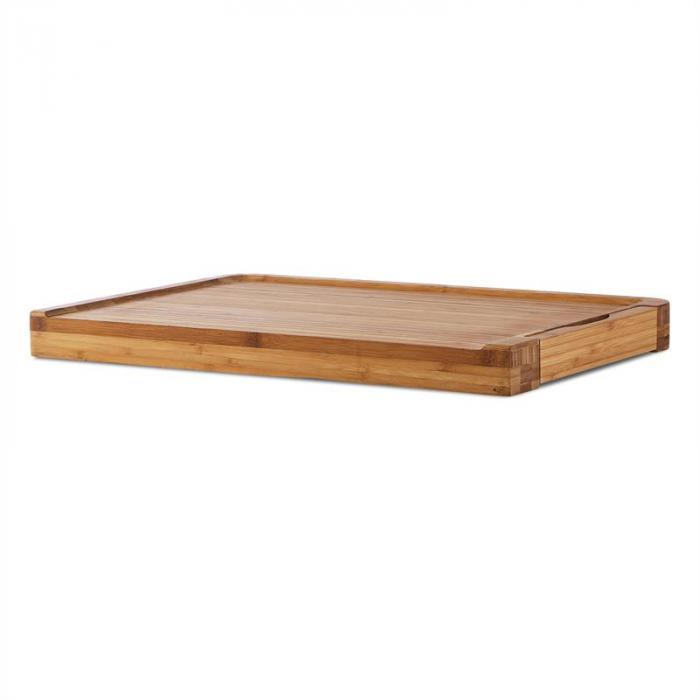Chopmaster Tagliere e Bilancia da Cucina 5 kg Bambù