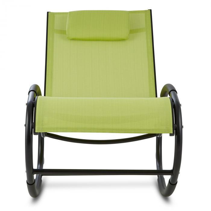 Retiro keinutuoli alumiini polyesteri vihreä
