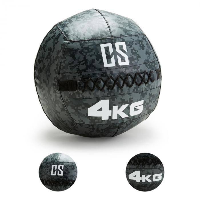 Restricamo Wall Ball Palla Medica 4kg Mimetica