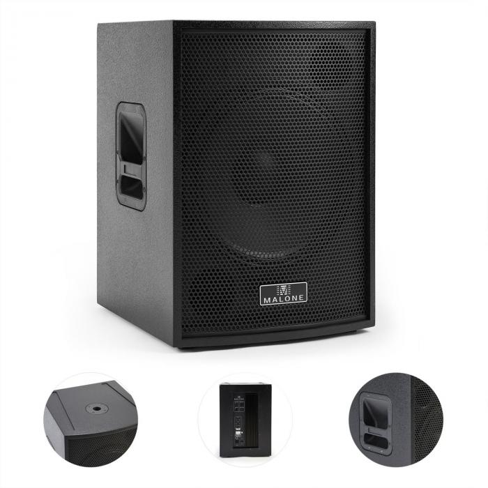 "BB6-15SUBA-B Blackbox aktiver PA-Subwoofer 38 cm (15"") 800W max. schwarz"