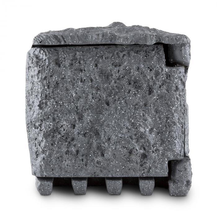 Timer Rock Gartensteckdose 2-fach Verteiler 1,5m Zeitschaltuhr Fels