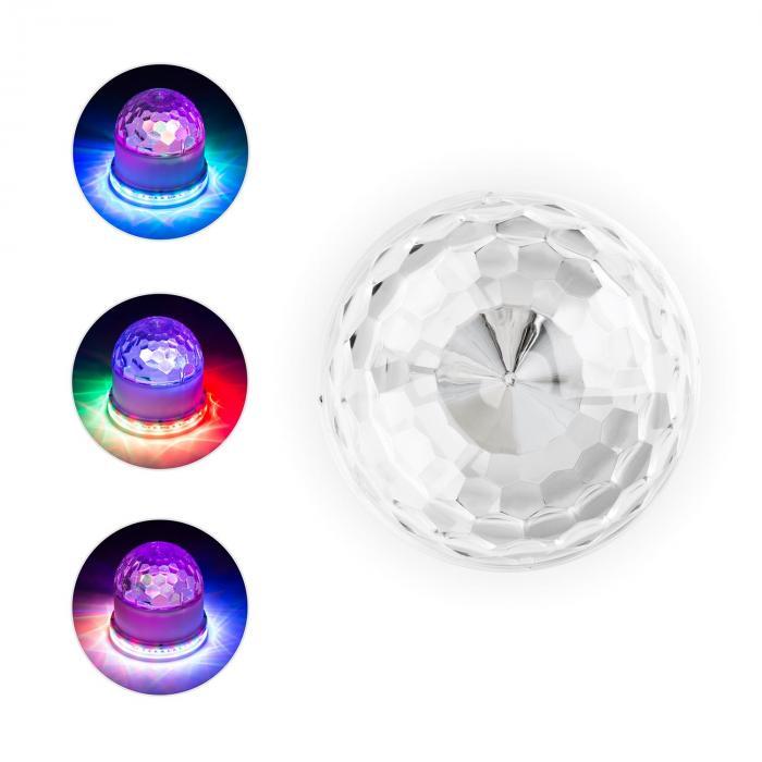 2-in-1 Sunflower & Jelly Ball Effetto Luce LED48 RGB LEDs suono attivo