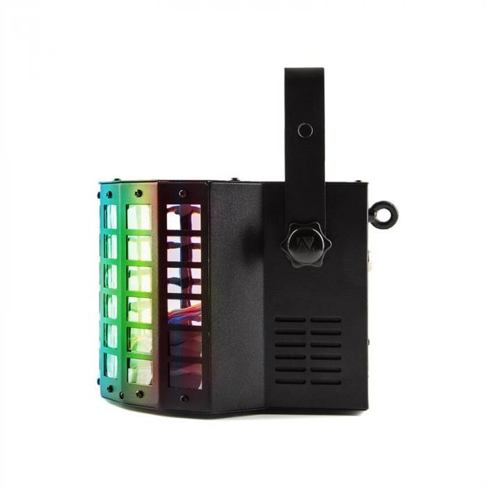 Radical Riflettore LED 2 in 1 Derby & Laser 20W LED RGBAWP DMX
