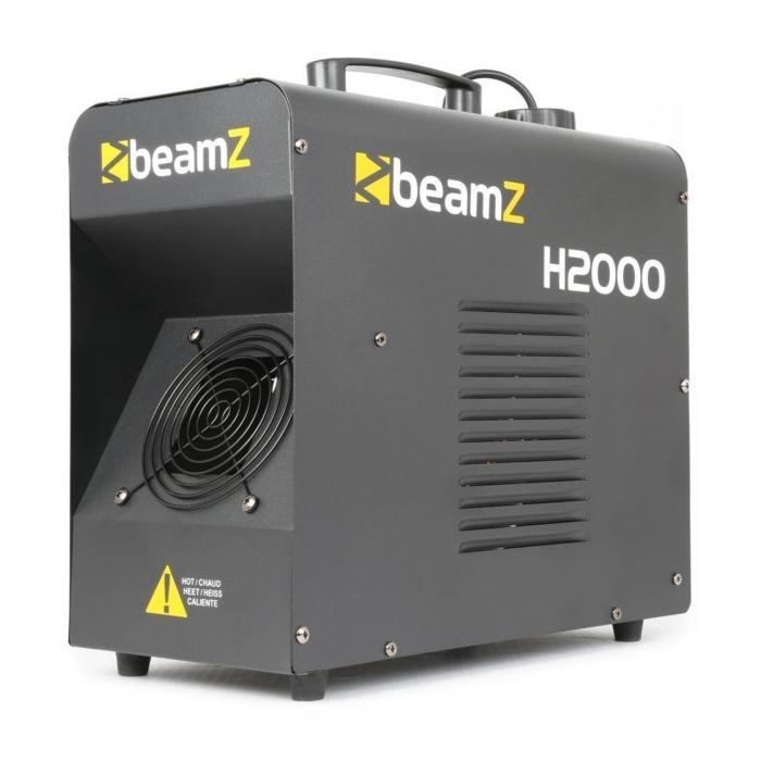H2000 Fazer Macchina della nebbia 1700W DMX Stand-Alone Nero