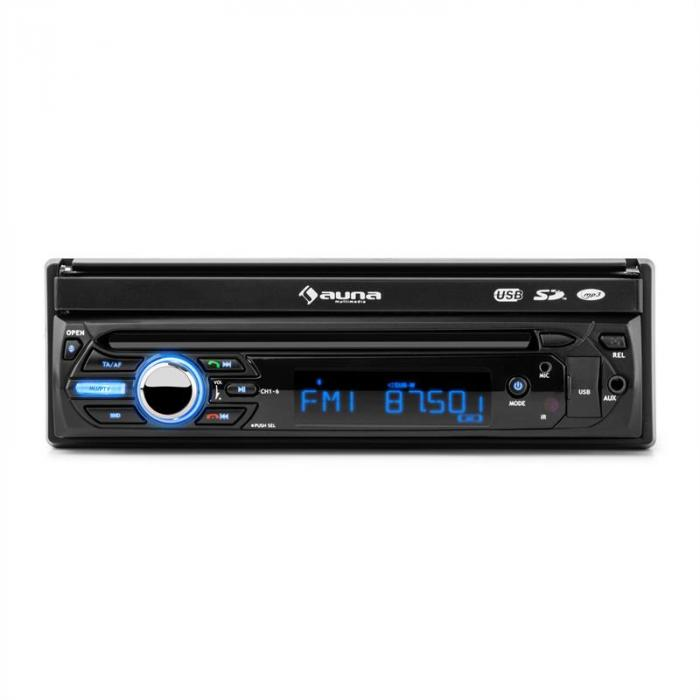 "MVD-310 autoradio 17,8cm (7"") kosketusnäyttö Bluetooth USB SD FM Front-AV"