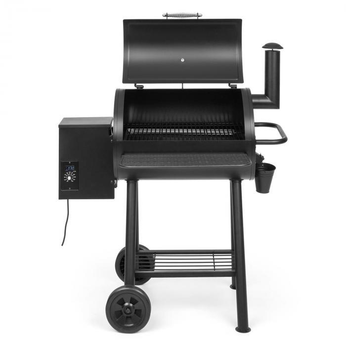 The Boss pellettigrilli smoker konvektiogrilli 250 °C max. 260W musta