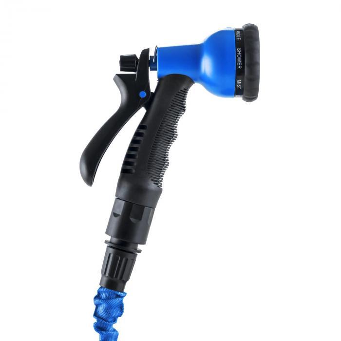 Water Wizard 15 Flexibele Tuinslang 8 Functies 22,5m blauw