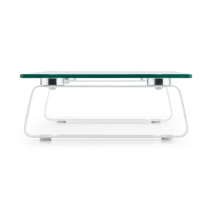 M-Riser TV-board monitorstandaard beeldschermstandaard 56x8x21cm 20 kg glas