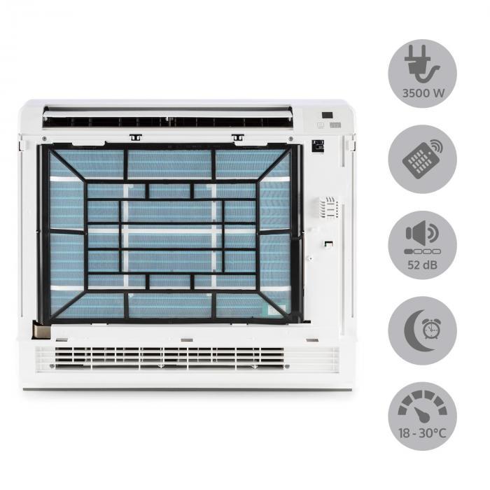 Ground Control 12 Climatizzatore Inverter Split A++ bianco