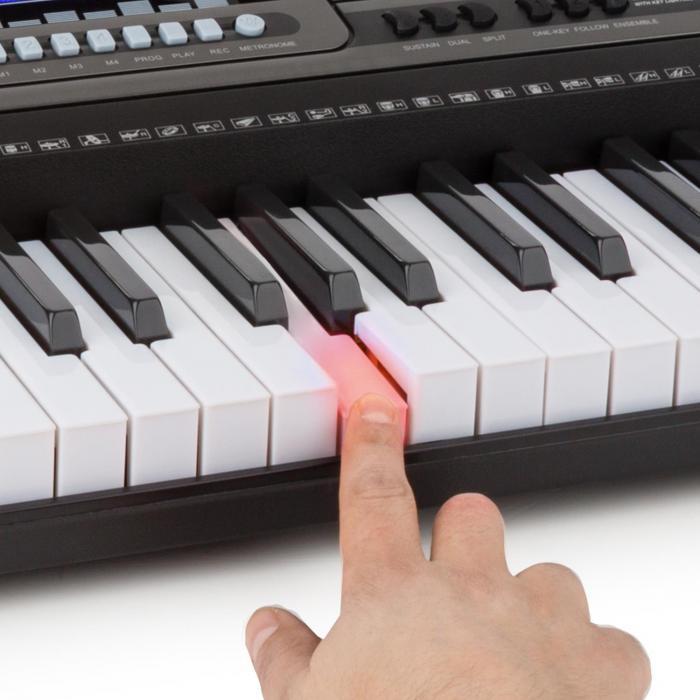 Etude 450 USB harjoittelukosketinsoitin kuulokkeet 61 kosketinta USB-MIDI-soitin LCD