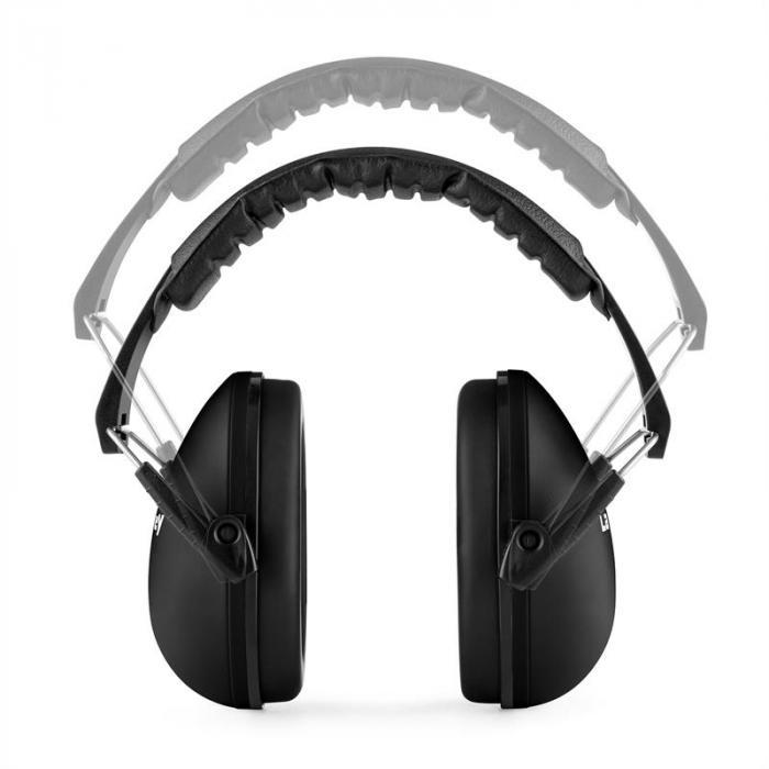 Earo kindergehoorbeschermer passief gemiddelde grootte - zwart