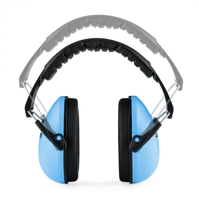 Earo kindergehoorbeschermer passief gemiddelde grootte - blauw
