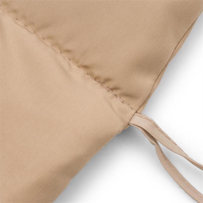Dahlia Cushion Beige pehmustepäällinen riippukeinun vasraosa beige
