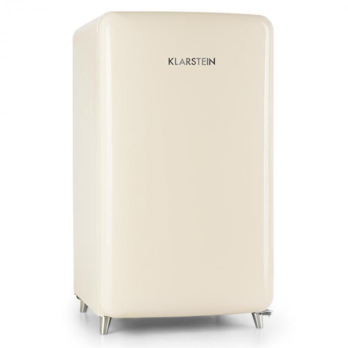 PopArt-Bar kerma jääkaappi 136l retromuotoilu 3 tasoa vihanneslokero A+