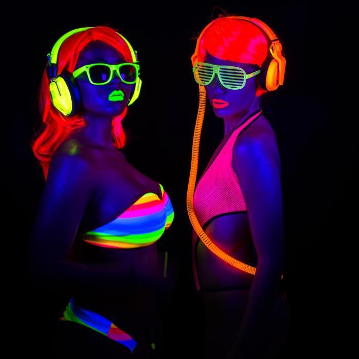 BUV93 LED-Bar 8x3W Schwarzlicht UV LED-Leiste mit Schalter