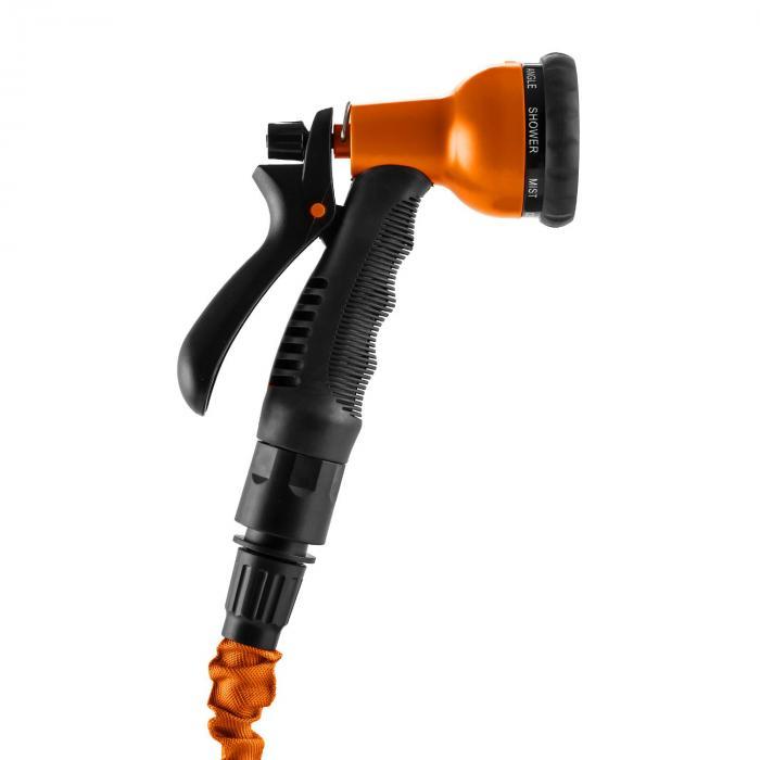 Water Wizard 22 flexibele tuinslang 8 functies 22,5 m oranje