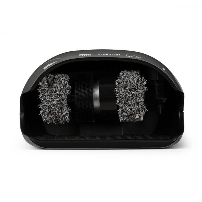 ShoeButler Shoe Polisher 120W 3 Brushes grey