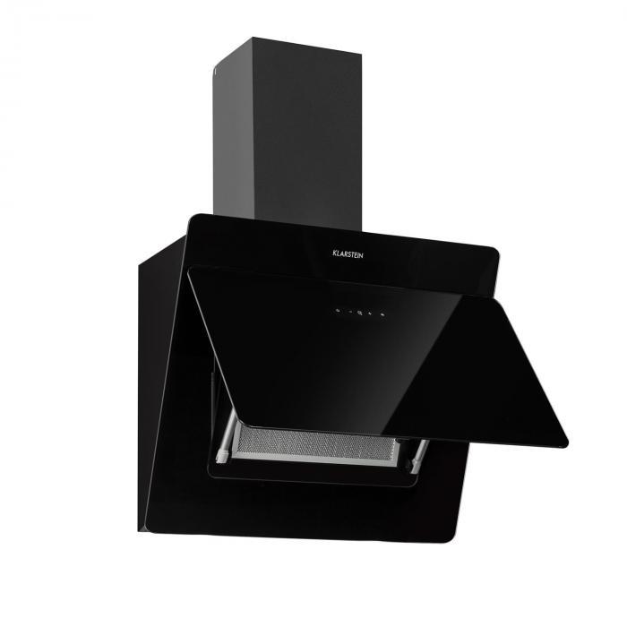 Aurica Exaustor Set de Recirculação de Ar 60 cm Filtro de Carvão Ativado Preto