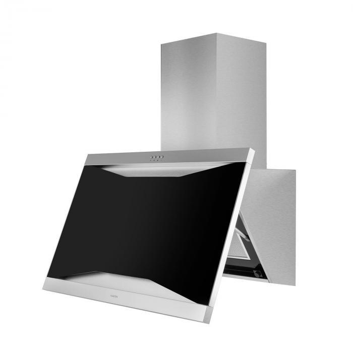 Masur Campana extractora Set de circulación Frontal pintable 650 m³/h Acero inoxidable