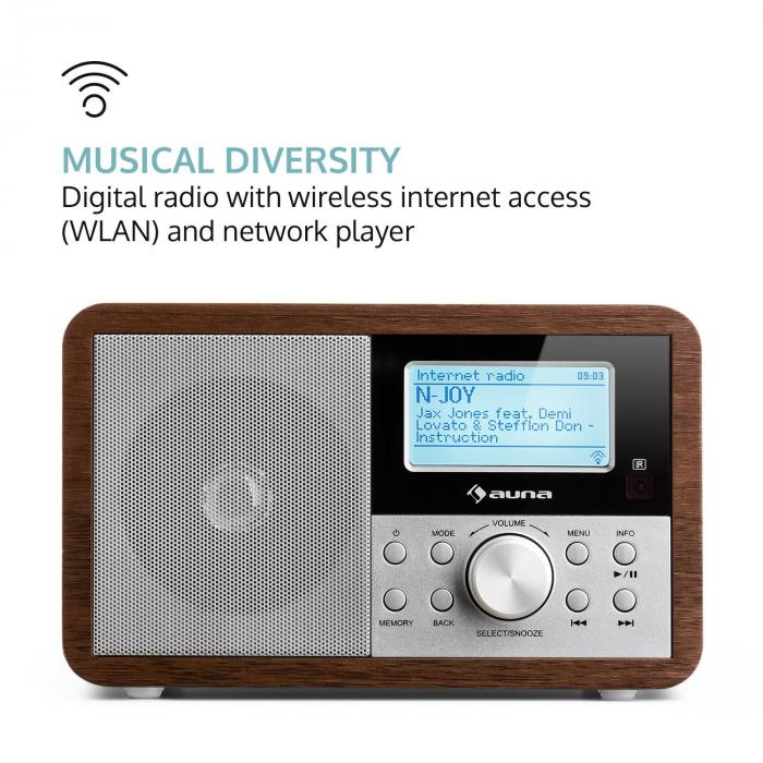 worldwide mini internet radio wifi network player usb mp3. Black Bedroom Furniture Sets. Home Design Ideas