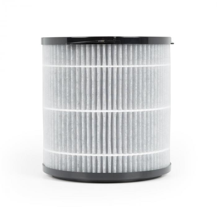 Arosa Filtro 3 Componenti Prefiltro HEPA H11 Filtro ai Carboni nero