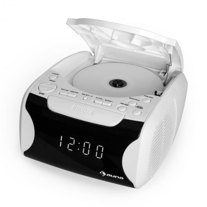 Dreamee USB Radiosveglia USB CD MP3 bianco